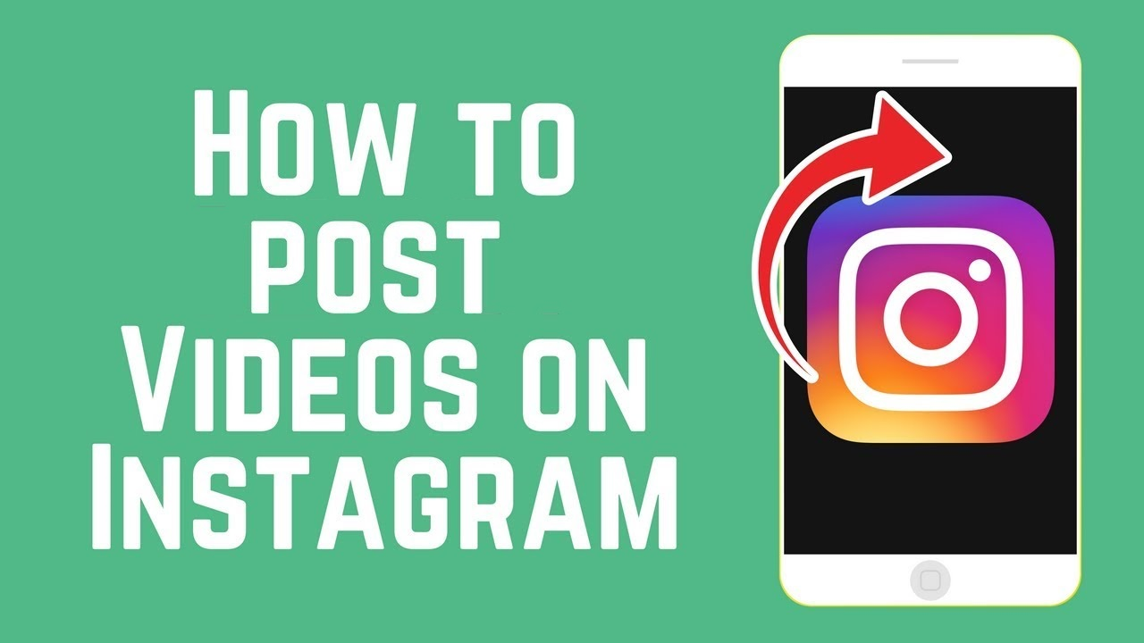 post videos on Instagram
